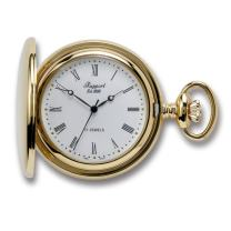 Vintage Pocket Watch with Chain by Rapport - Classic Oxford Hunter Case Pocket Watch