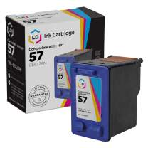 LD Remanufactured Ink Cartridge Replacement for HP 57 C6657AN (Color)