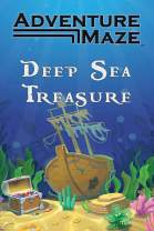 Adventure Maze by River Hill Games | Activity Puzzle Game, Folding Maze Sticker & Story Book for Kids & Adults - Deep Sea Treasure, Pirate Theme