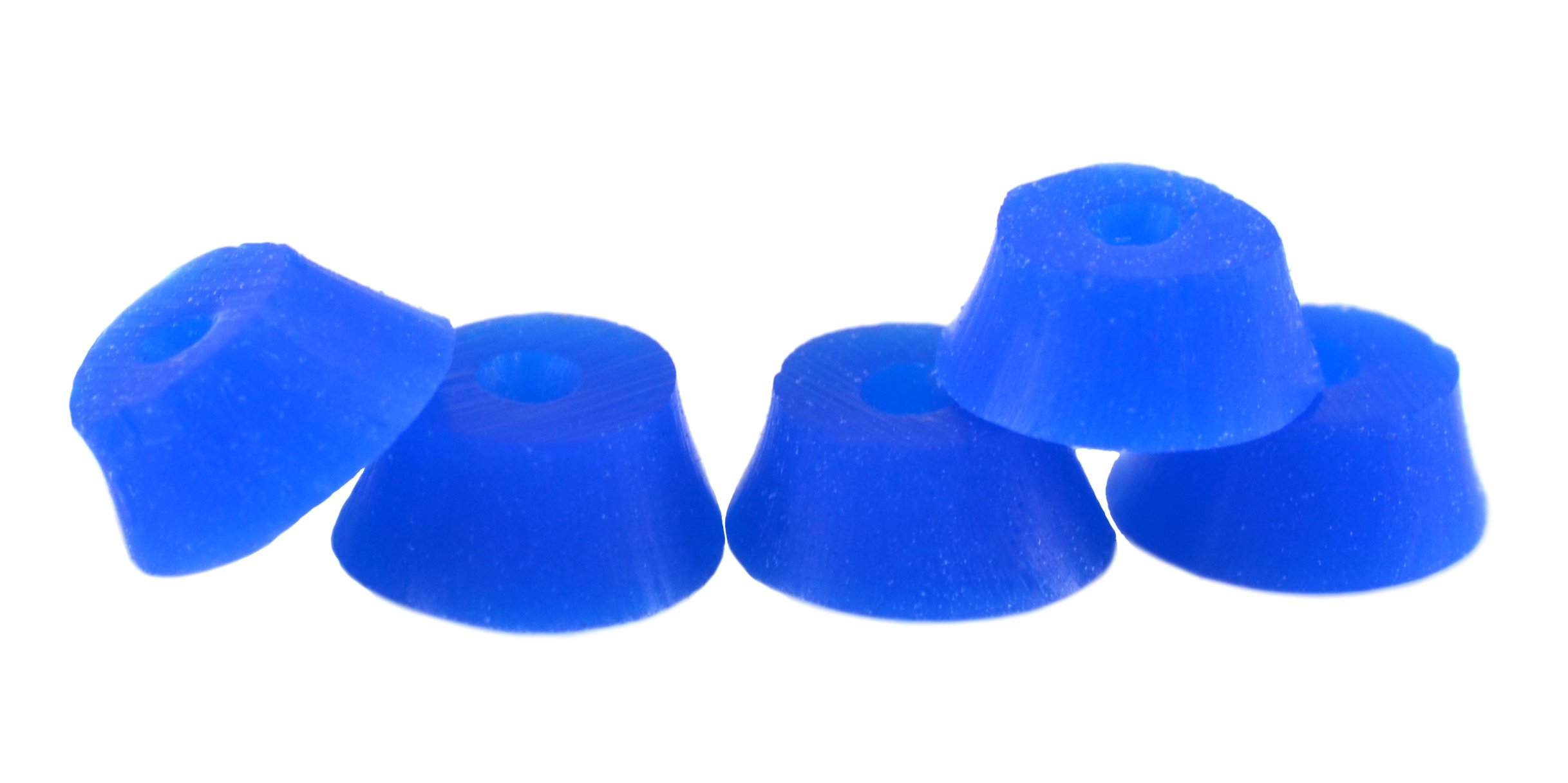 Teak Tuning Bubble Bushings, Professional Shaped Fingerboard Tuning, Dark Blue, Pack of 5