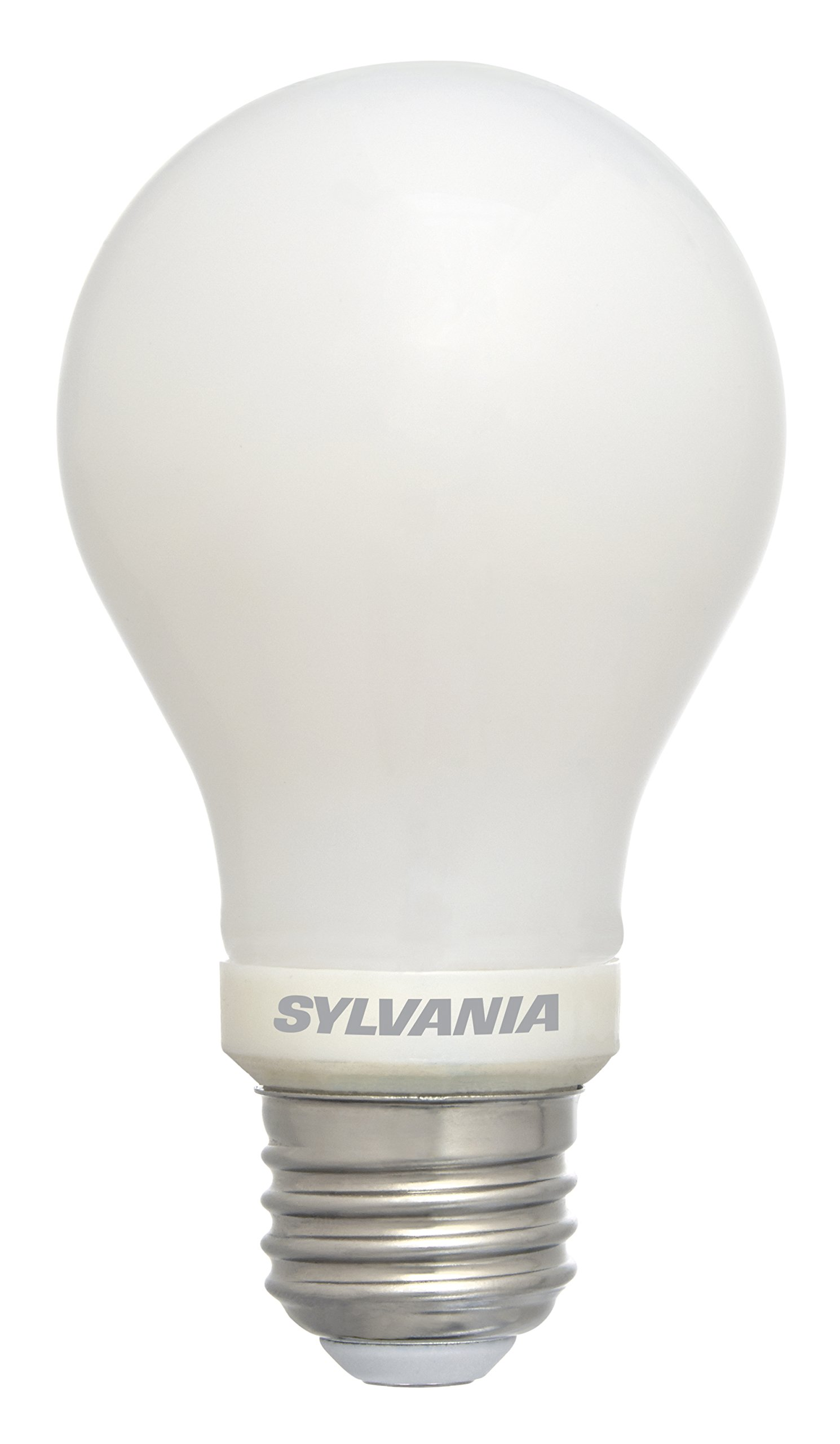 SYLVANIA 75 Watt Equivalent, A19 LED Light Bulbs, Non-Dimmable, Daylight Color 5000K, Made in the USA with US and Global Parts, 4 Pack