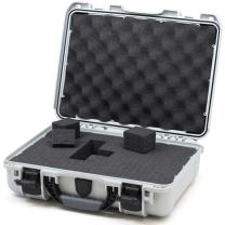 Nanuk 910 Waterproof Hard Case with Foam Insert - Silver