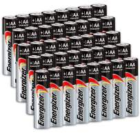 40 Count Energizer AA Batteries, Double A Battery Max Alkaline, Long Lasting, Leak Resistant, The Perfect Choice of Power for All AA Battery Operated Devices