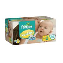 Pampers Swaddlers Diapers Big Pack Size 2 84 Count