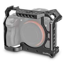 SMALLRIG A7R IV Camera Cage for Sony Alpha A7R IV with Cold Shoe Mount and NATO Rail - CCS2416