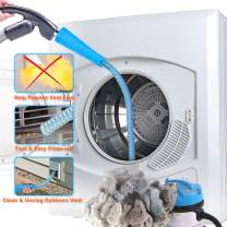 PetOde Dryer Vent Cleaner Kit Dryer Vent Vacuum Attachment Lint Remover Power Washer and Dryer Vent Vacuum Hose Dryer Vent Cleaning kit Simple Fast Lint Removing