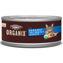 Organix Organic Canned Cat Food Turkey, Brown Rice & Chicken