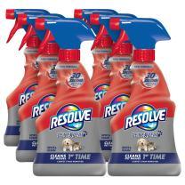 Resolve Pet Carpet Spot & Stain Remover, 96 fl oz (6 Bottles x 16 oz), Carpet Cleaner