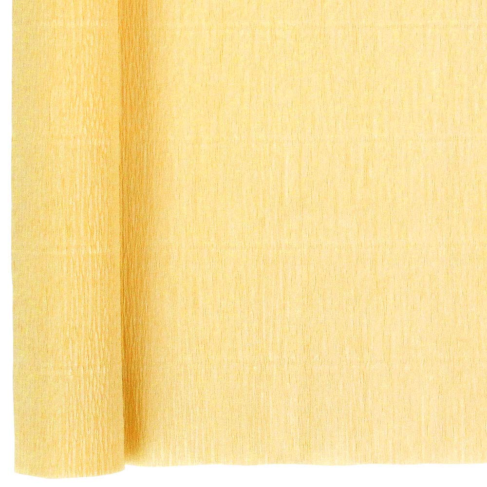 Just Artifacts 90g Premium Crepe Paper Roll, 20in Width, 8ft Length, Color: Vanilla
