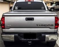 BDTrims Tailgate Raised Letters Compatible with 2014-2020 Tundra Models (Glossy Black)