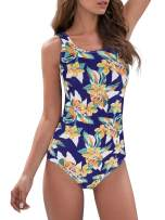 American Trends Women's One Piece Swimsuits for Women Athletic Swimsuits Women Swimwear Training Bathing Suits