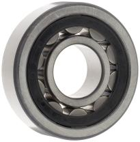 FAG NU208E-TVP2 Cylindrical Roller Bearing, Single Row, Straight Bore, Removable Inner Ring, High Capacity, Polyamide Cage, Normal Clearance, 40mm ID, 80mm OD, 18mm Width