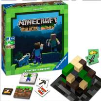 Ravensburger Minecraft: Builders & Biomes Strategy Board Game Ages 10 & Up - Amazon Exclusive