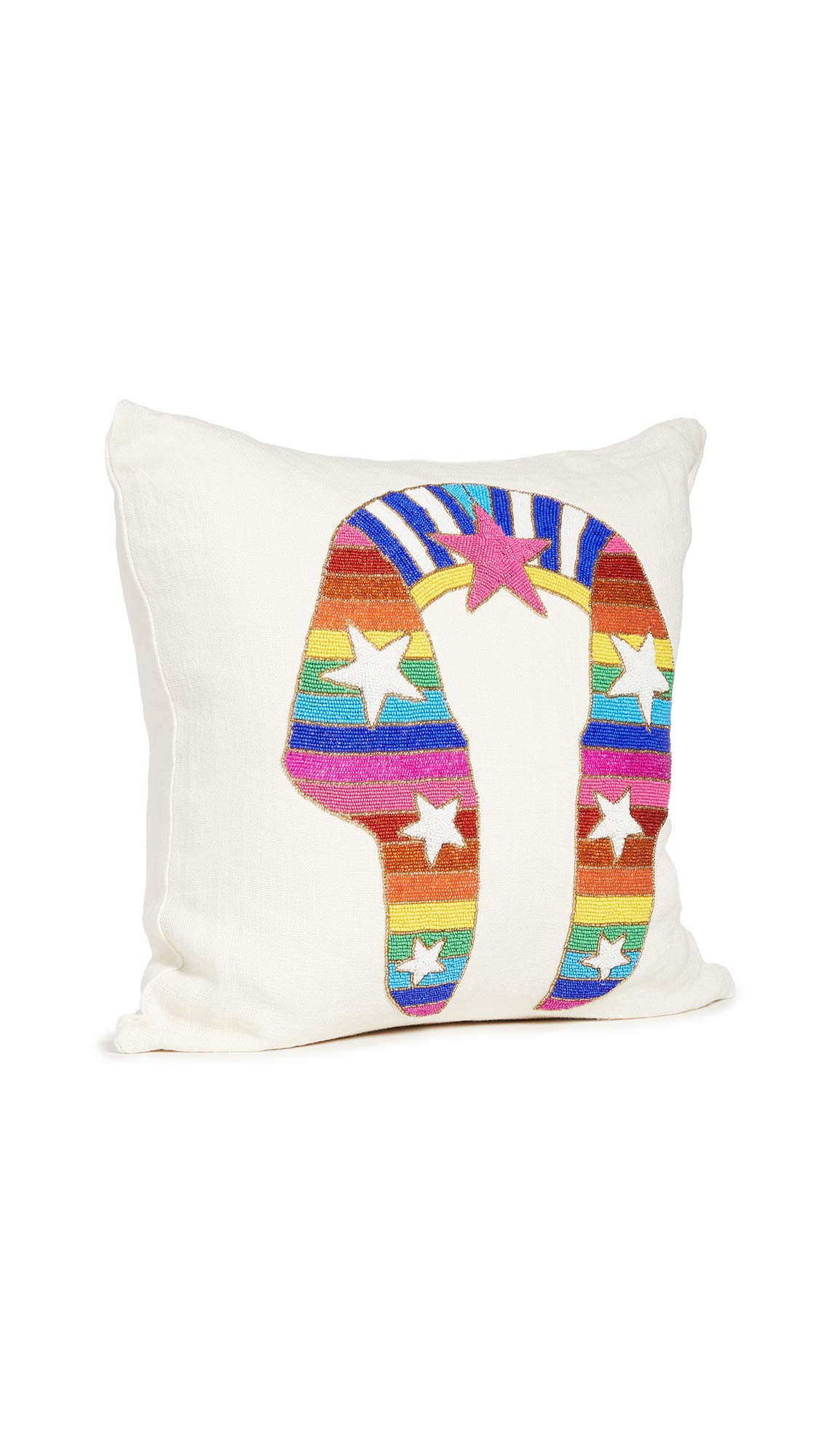 Jonathan Adler Sphinx Beaded Pillow