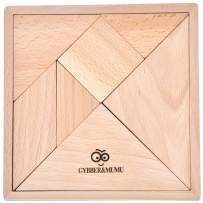 GYBBER&MUMU Wooden Jigsaw Development Tangram Jigsaw Puzzle Educational Toys for Kids