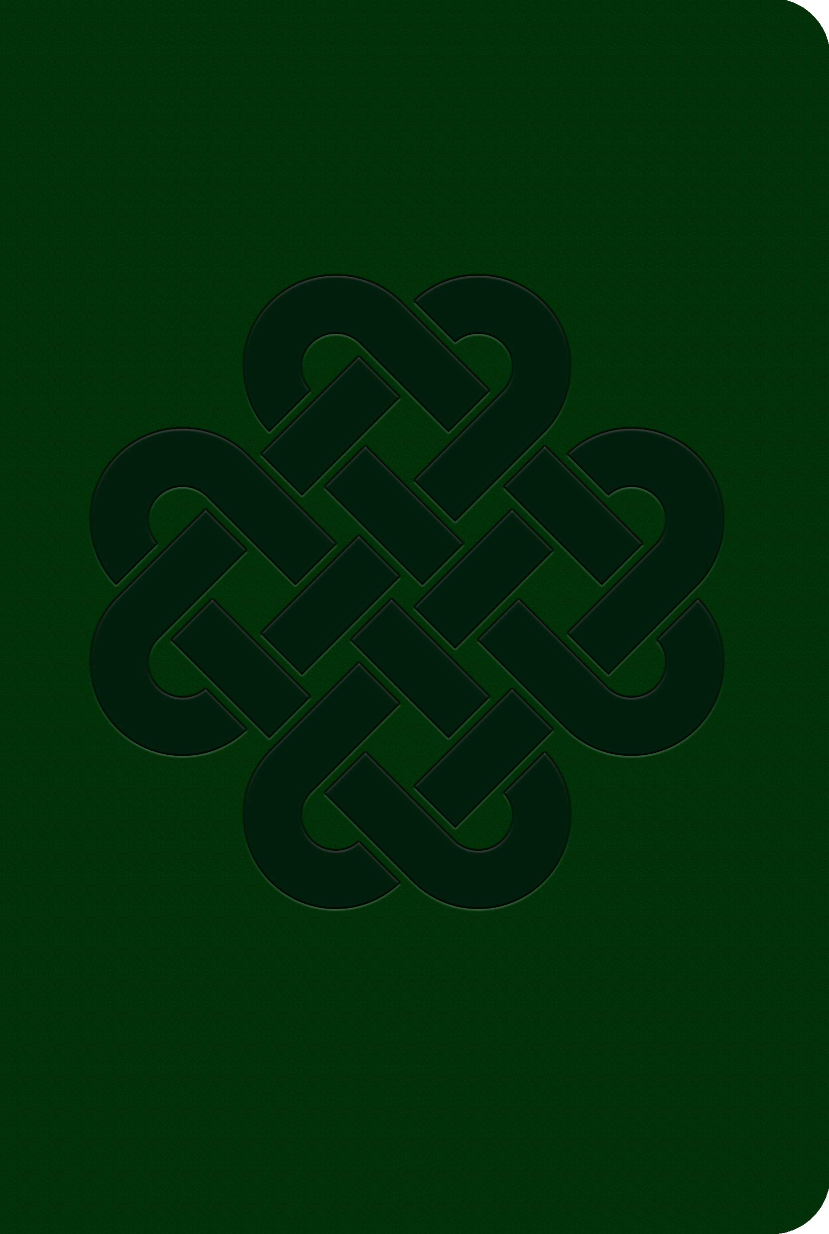 Piccadilly Soft Leatherlook Green Celtic Knot Journal   Vegan Friendly Soft Cover Lined Diary   Acid-Free Writing Paper   192 Pages