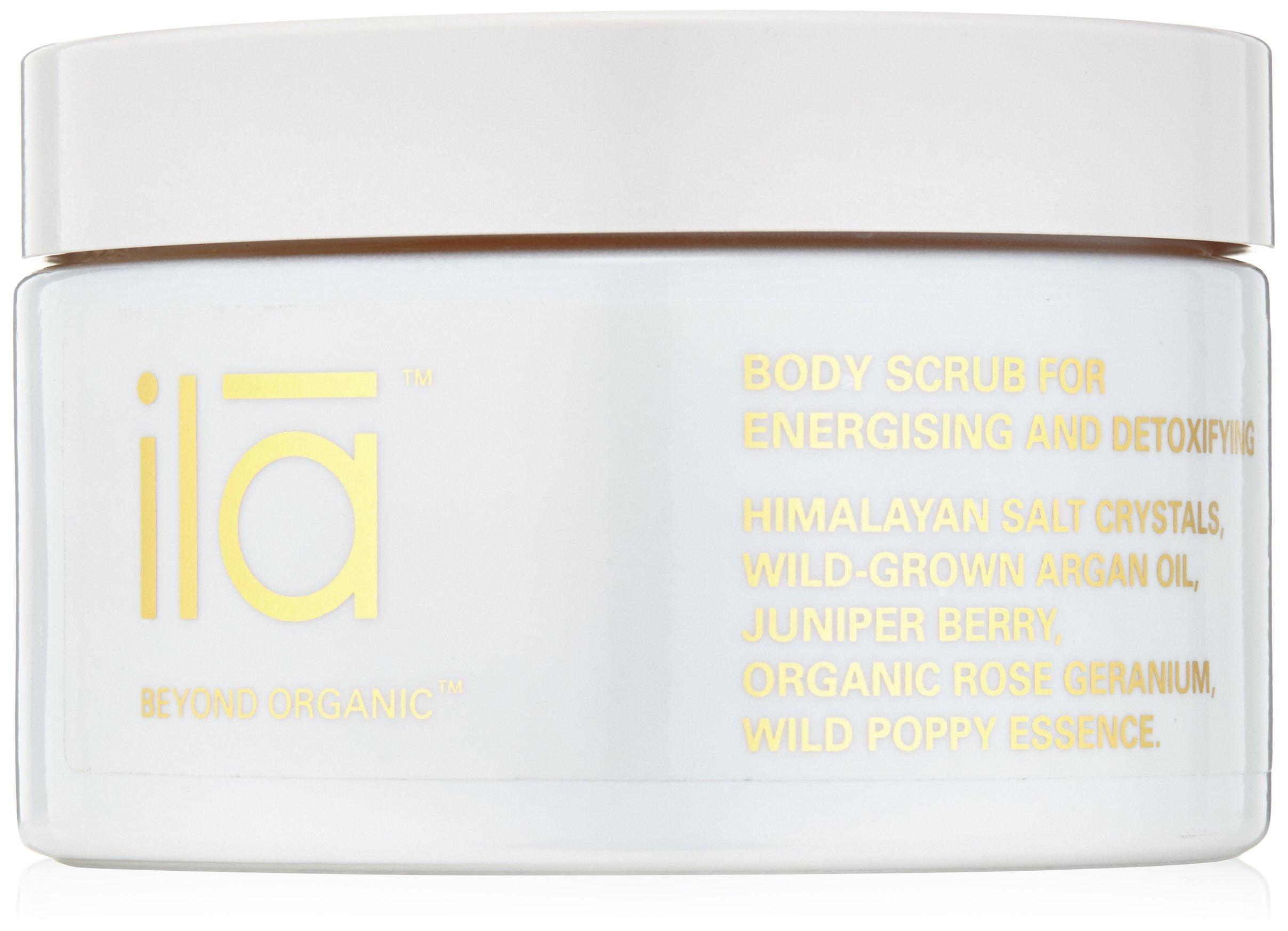 ila-Spa Body Scrub for Energizing and Detoxifying, 8.82 oz
