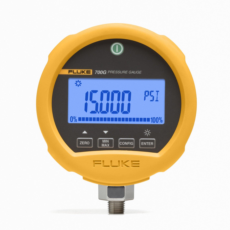 "Fluke FLUKE-700RG08 Pressure Gauge, Reference, 1000 PSIG, 1.5"" x 5"" x 4.5"""