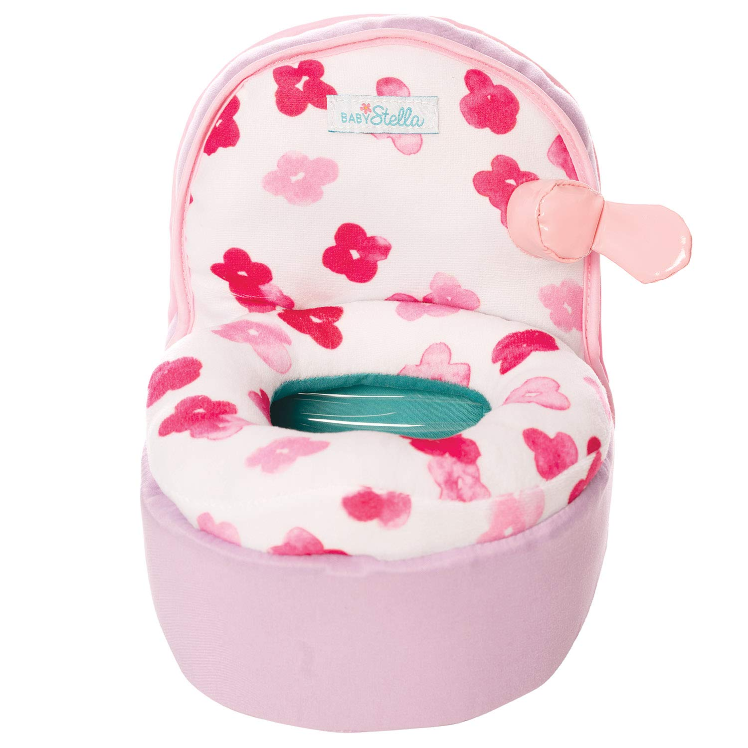 """Manhattan Toy Baby Stella Playtime Potty Chair Baby Doll Accessory for 12"""" and 15"""" Soft Dolls"""
