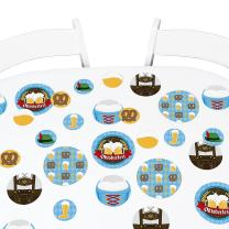 Big Dot of Happiness Oktoberfest - German Beer Festival Giant Circle Confetti - Party Decorations - Large Confetti 27 Count