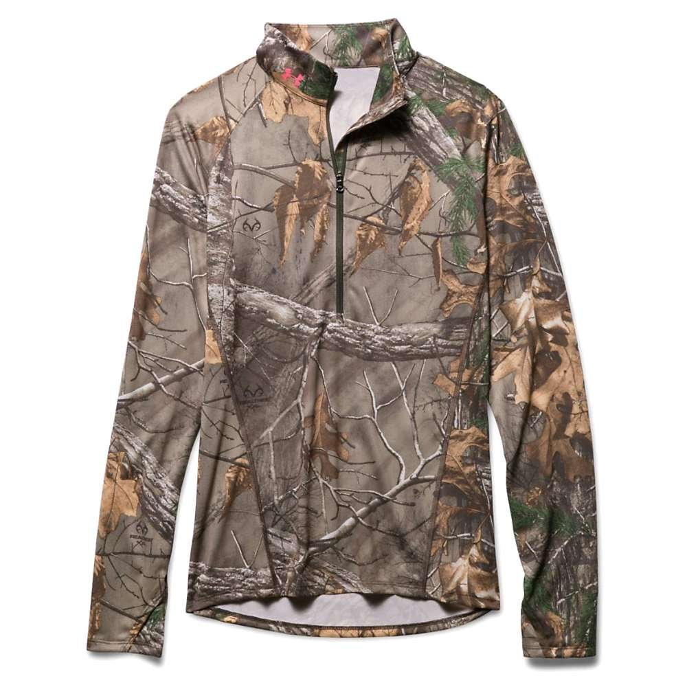 Under Armour Womens Tech Camo 1/2 Zip
