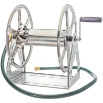 Liberty Garden Products 709-S2 Hose Reel, Stainless Steel