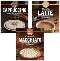 Cafe Tastlé Cappuccino, Vanilla Latte, Caramel Macchiato, 30 Piece Variety Pack