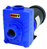 """AMT Pump 276C-98 Self-Priming Centrifugal Pump, Cast Stainless Steel, 3 HP, 3 Phase, 230/460V, Curve B, 2"""" NPT Female Suction & Discharge Ports"""