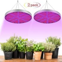 omotor Led Grow Light, 50W UV IR Growing Lamp for Indoor Plants Full Spectrum Growing Lamp for Hydroponics,Greenhouses,Grow Tent,Plant Factory,Flower&Vegetable(2 Pack)
