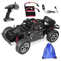 Thsinde 4WD Remote-Control-Car Hight Speed Off Road RC Car 1:12 2.4GHz 2 Batteries with Storage Bag Battery Charger