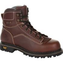 Georgia Boot AMP LT Logger Low Heel Waterproof Work Boot