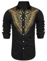 Daupanzees Mens Casual Basic Designed Long Sleeve Lapel Collar Front Button Cardigan with Pockets