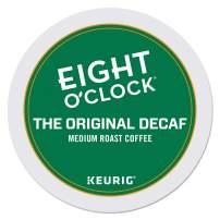 Eight O'Clock Coffee The Original Decaf, Single-Serve Keurig K-Cup Pods, Medium Roast Coffee, 96 Count