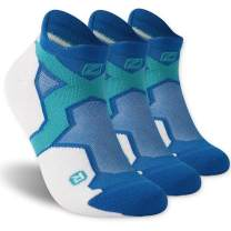 ZEAL WOOD Men Women No-Show Running Athletic Socks Casual Fashion Cushioned Comfort Socks