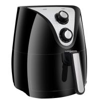 SUPER DEAL Electric Air Fryer XL 3.7 Quart W/Timer, Temperature Control, Detachable Basket, Fry Healthy with 80% Less Fat