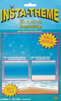 Undersea Backdrop Party Accessory (1 count) (1/Pkg)