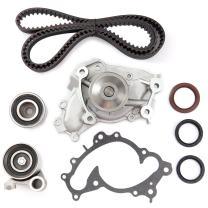 SCITOO Engine Timing Belt Kit Fits 1994-2001 LEXUS ES300 RX300 TOYOTA AVALON CAMRY SIENNA SOLARA 3.0L 2959CC V6 DOHC 1MZFE