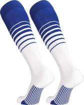 TCK Sports Elite Breaker Soccer Socks with Extra Cross-Stretch for Shin Guards (Multiple Colors)