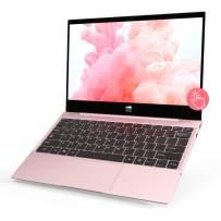 "XIDU Tour Pro 12.5"" Touchscreen Laptop, 2K(2560x1440) IPS Display, Backlit Keyboard, Fingerprint Reader, Intel Celeron 3867U, 8GB RAM, 128GB eMMC, Windows 10 Home (Rose Gold)"