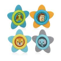 Nuby Mosquito Repellent Clips for Baby & Toddler with Natural Ingredients, Citronella & Lemongrass, DEET Free, 2 Pack (4 Clips)