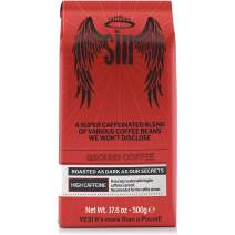 Coffee SIN Performance Coffee   The World's Strongest Coffee with the Highest Caffeine Content   Ground. 17.6 Oz