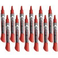 Quartet Dry Erase Markers, Whiteboard Markers, Chisel Tip, EnduraGlide, BOLD COLOR, Red, 12 Pack (5001-4M)