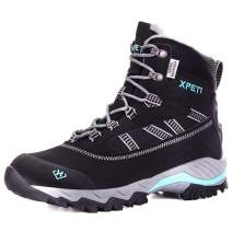 XPETI Women's Oslo Winter Snow Waterproof Hiking Boots