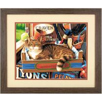 Dimensions Cat Signs Paint by Numbers for Adults, 14'' W x 11'' L