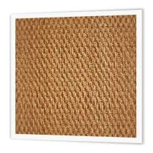3dRose ht_62629_3 Natural Sisal Fiber-Iron on Heat Transfer for Material, 10 by 10-Inch, White