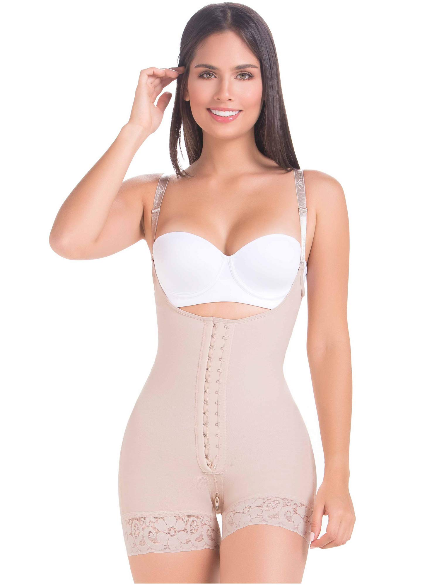 MARIAE FP100 Tummy Control Braless Shapewear | Fajas Colombianas Reductoras