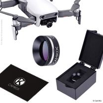 CamKix PL Filter Compatible with DJI Mavic 2 Pro - Includes a Polarizing Filter (PL), a Filter Storage Box and a Cleaning Cloth - Prevents Reflections in Water/Glass (for DJI Mavic Air)