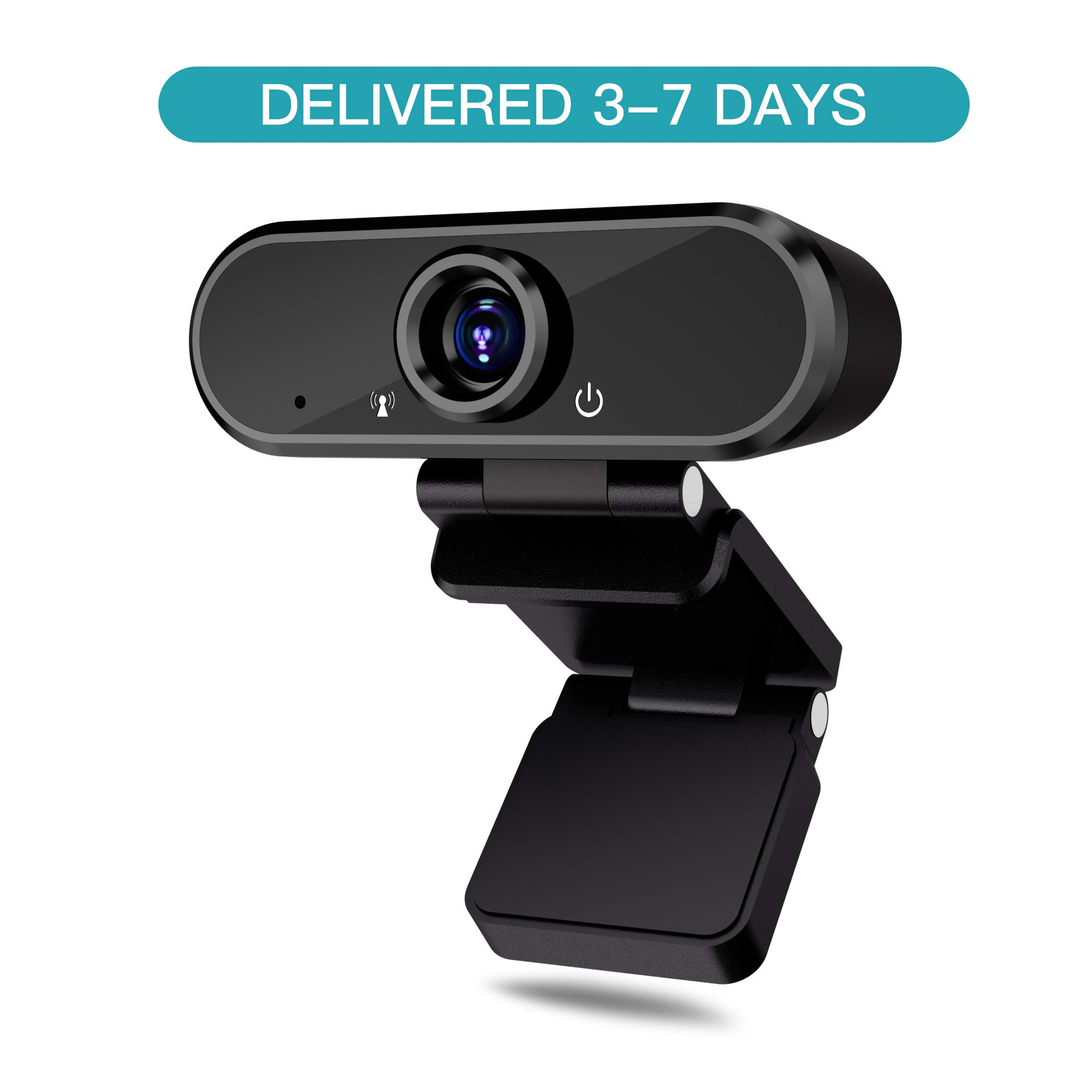 Hd Webcam With Microphone 1080p Web Camera For Video Calling Conferencing Recording Pc Laptop Desktop Usb Webcams