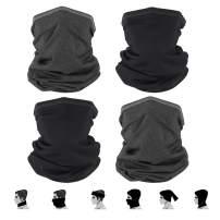 KOLANDY Neck Gaiter Face Mask Reusable, Sun UV Protection Face Cover Bandana Dustproof Lightweight for Men & Women