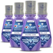 Crest ProHealth Advanced Alcohol Free Extra Deep Clean Mouthwash 16.9 fl oz. Pack of 4